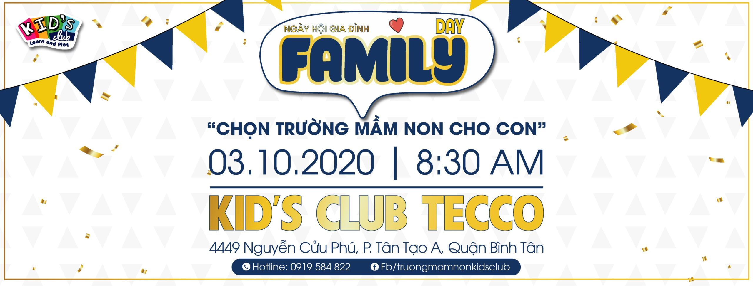 KID'S CLUB TECCO | FAMILY DAY – NGÀY HỘI GIA ĐÌNH